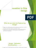 Innovation in Ship Design