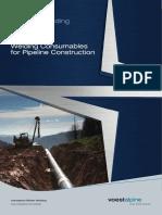 Welding Consumables for Pipeline Construction (en)