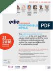 edie Responsible Retail Conference brochure