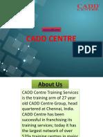 CAD, CAM, CAE Training Centre in Anna Nagar | Computer Aided