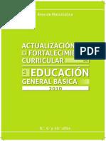 Actualizacion y Fortalecimiento Curricular 8 9 10