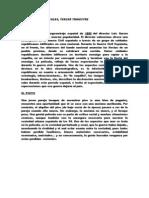 trimestre 3, redacciones castellano