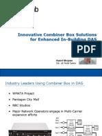 Combiner Box InBuilding DAS