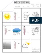 weather-worksheet