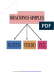 ORACIONES SIMPLES 4