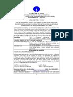 SARFAESI e Auction- V T Traders - Sale Notice