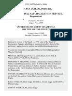Moussa Diallo v. Immigration & Naturalization Service, 232 F.3d 279, 2d Cir. (2000)