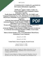Great American Insurance Company and Instco Ltd., Plaintiffs-Counter-Defendants-Appellants v. M/v Handy Laker, Her Engines, Boilers, Tackle, Etc., Defendant-Third-Party-Plaintiff-Cross-Claimant-Counter-Defendant-Appellee, Pacific Basin Handy Bulk Carriers, (No. 26 Corp.) and Vanguard Enterprise Co., Ltd., Defendants-Cross-Defendants-Third-Party-Plaintiffs-Cross-Claimants-Counter-Defendants-Appellees, Aristrain Internationale Handelsgesellschart Mbh and Aristrain Hispano Trade Handels Gmbh, Defendant-Cross-Defendant-Cross-Claimant-Appellee, Western Bulk Carriers, K/s, Cross-Defendant-Third-Party-Defendant-Cross-Claimant-Appellee, Aristrain Hispano Trade Handels Gmbh, Successor in Interest to Aristrain Internationale Handels Gmbh, Cross-Claim-Defendant, Shinwa Kaiun Kaisha, Ltd., Cross-Defendant-Third-Party-Defendant-Cross-Claimant, 348 F.3d 352, 2d Cir. (2003)