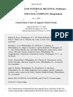 Commissioner of Internal Revenue v. The Mammoth Coal Company, 229 F.2d 535, 3rd Cir. (1956)