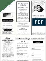 Gluten Intolerance Brochure