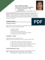 Curriculum Marilu