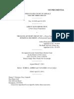 Amboy Bancorp v. Bank Advisory Grp Inc, 3rd Cir. (2011)