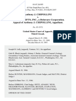 Anthony J. Chipollini v. Spencer Gifts, Inc., a Delaware Corporation. Appeal of Anthony J. Chipollini, 814 F.2d 893, 3rd Cir. (1987)
