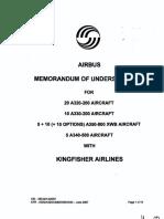 Airbus Kingfisher Mou 2007