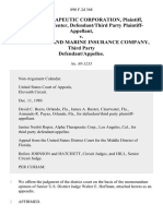 Alpha Therapeutic Corporation, Hunter Blood Center, Defendant/third Party v. St. Paul Fire and Marine Insurance Company, Third Party, 890 F.2d 368, 3rd Cir. (1989)