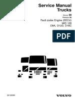 Volvo Error codes | Turbocharger | sel Engine on