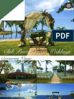 Club Punta Fuego Wedding Package 2016 2018 6