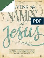 Praying the Names of Jesus Sample