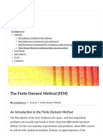 Detailed Explanation of the Finite Element Method (FEM)