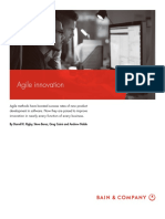 BAIN BRIEF Agile Innovation