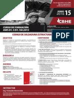 Curso de Formacion Aws d1.1-d1.1m-2015