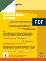 Acesso mais seguro - Pacote de Recursos Práticos do Acesso Mais Seguro (folheto)