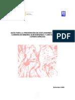 Guía Para La Prevención de Explosiones de Polvo de Carbón en Minería Subterránea y Limitación de Sus Consecuencias