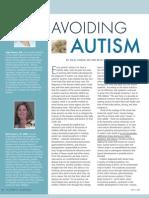 Avoiding Autism