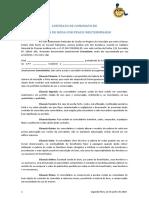 Contrato Comodato - Banco de Cadeira de Rodas