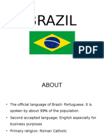 Brazil - A Culture Overview