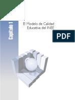 Modelo de Calidad Educativa Del INEE