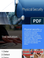 Physical Security process