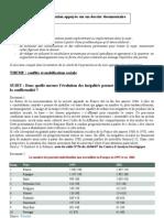 dissertation inégalités et conflits socaiux 2009-2010