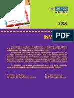 Zilele Ped Iesene Invitatie 2016