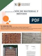 12 semana - Redacción Material y metodo..ppt