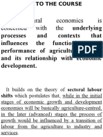 1. Agri Econ Models