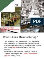 Lean Manufacturing 1 1