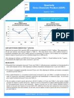 Quarterly GDP Publication - Q1 2016