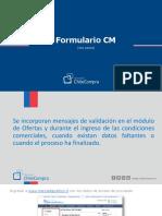 Manual Formulario Cm