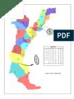 Mapa Politico de Charalá