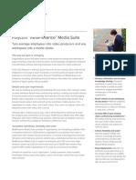 Realpresence Media Suite Data Sheet Enus