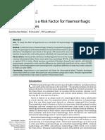 004 Oa Hypertension as a Risk