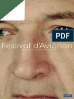 Programme Festival Avignon 2008