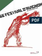 Programme Festival Avignon 2012