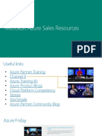 MS Azure Sales Resources