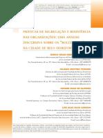 Práticas de segregação e resistência nas organizações = uma análise discursiva sobre os rolezinhos na cidade de BH MG