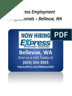 Express Employment Professionals – Bellevue, WA