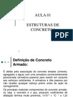 Estruturas de Concreto i Aula 01