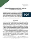 Cvorovic Nonhuman Primates Sexual Behaviour