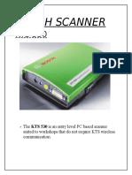 Bosch Scanner Kts 530